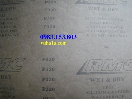 Nhám giấy chịu nước RMC Rikken